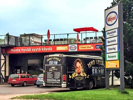 """""""Mössöllä"""" ovat esiintyneet lähes kaikki suomi-rockin kärkinimet."""