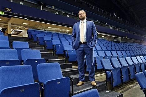 Jussi Salonoja piti pitkään pystyssä Espoon Bluesia.