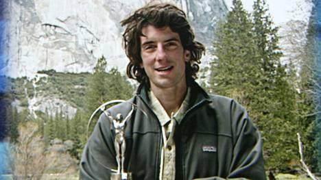 Dean Potter palkittiin vuonna 2003 Laureus-gaalassa parhaana extreme-urheilijana. Arkistokuva.