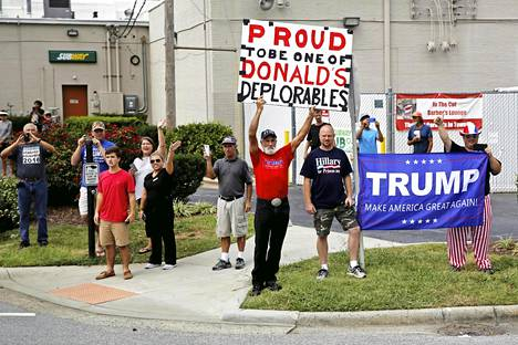 Donald Trumpin kannatuksen suuruus yllätti monet asiantuntijat.