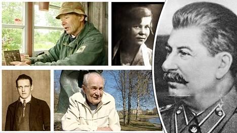 Suomalaisiin kohdistuneet puhdistukset olivat osa Neuvostoliiton johtaja Josif Stalinin (oik.) hirmutekoja.