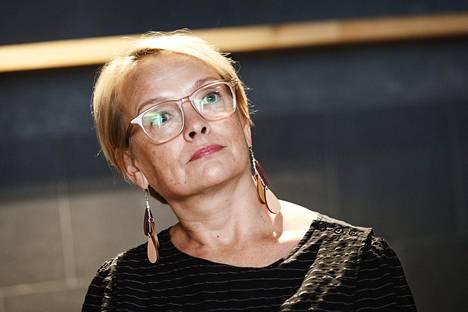 Ihmisoikeusliiton projektipäällikkö Johanna Latvala.