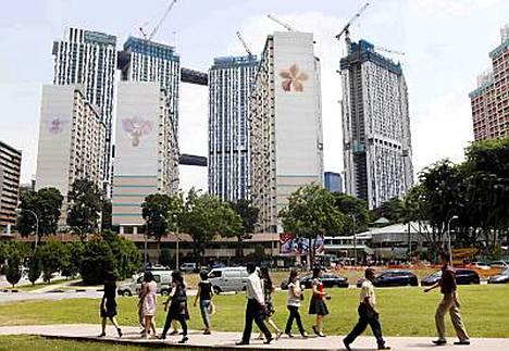 Singaporeen kelpaa matkustaa, jos etsii matkakohteelta turvallisuutta.