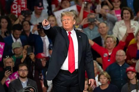 Donald Trump on tunnettu suorasukaisista lausunnoistaan.
