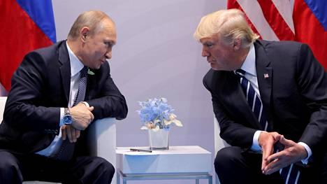 Donald Trump ja Vladimir Putin tapaavat Helsingissä.