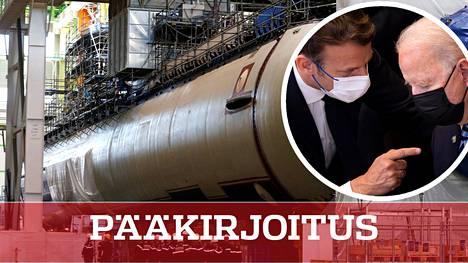 Sukellusvenekaupoista syttyi sanasota Yhdysvaltain ja Ranskan kesken.