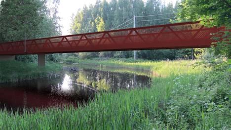 Matarinpuiston uusi silta tulee näyttämään tältä.