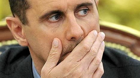 Syyrian presidentti al-Assad