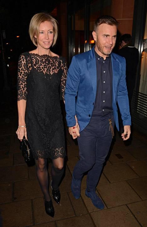 Gary Barlow ja hänen vaimonsa Dawn ovat olleet naimisissa 17 vuotta.