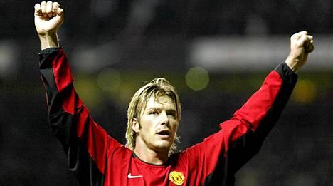 David Beckham on Fergien poikasista tunnetuin.