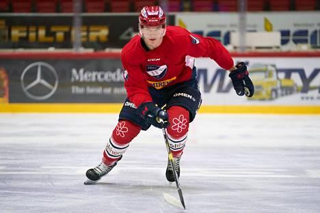 HIFK:n Anton Lundellia pidetään NHL:n seuraavan varaustilaisuuden kärkinimenä suomalaisista.