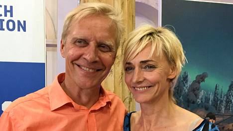 Arto Bryggare ja Heike Drechsler esiintyivät ensimmäisen kerran julkisesti yhdessä Rion olympialaissa.