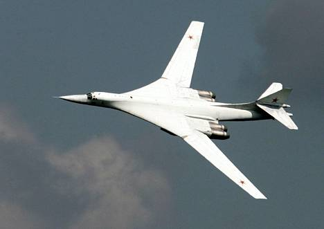 Tupolev Tu-160 -pommikone.
