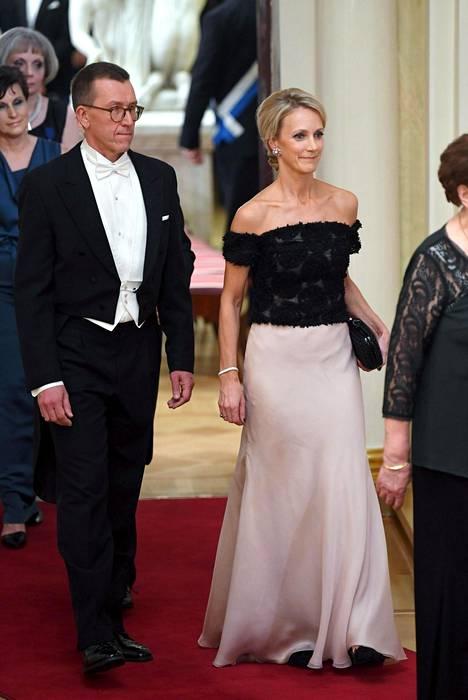 Maija Lehmusvirta suunnitteli itse oman pukunsa, ja se todellakin kannatti.