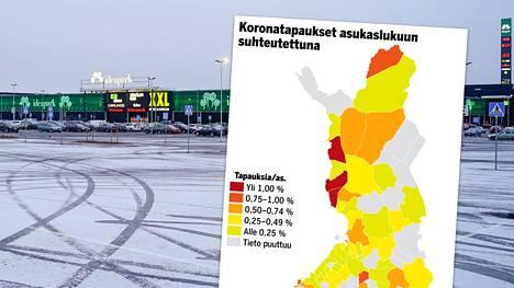 Seinäjoella on parin viime päivän aikana vahvistettu 16 uutta koronatapausta. Silti kaupunki on edelleen suhteellisesti Suomen koronarauhallisimpia alueita.