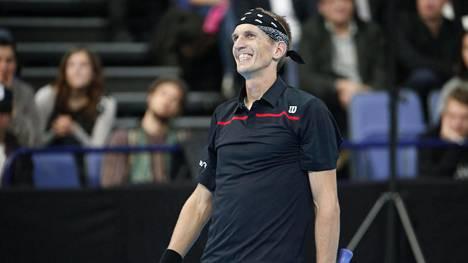 Jarkko Nieminen pärjää yhä tenniskentällä.