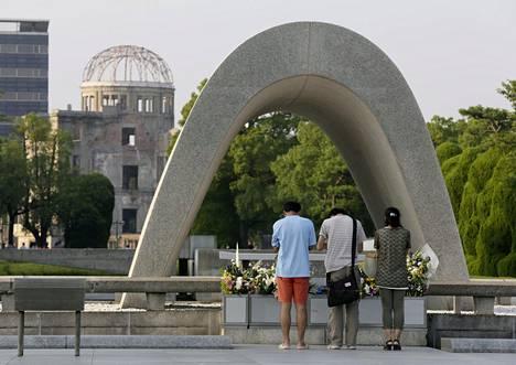 Presidentti Obama vierailee Hiroshiman rauhanpuistossa toukokuun lopulla.