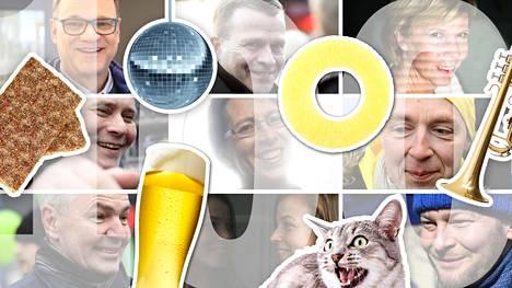 Puoluejohtajilla on harrastuksia, huvituksia ja elämänkokemuksia, joista et ehkä tiennyt.