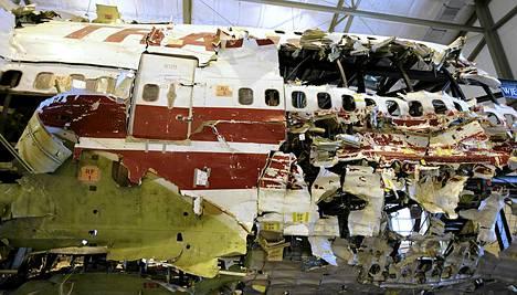 TWA:n hylyn jäännöksistä koottu kone asetettiin esille Yhdysvaltojen lentoturvalautakunnan koulutuskeskukseen vuonna 2008.