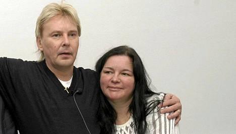 Matti ja Mervi vuonna 2004.