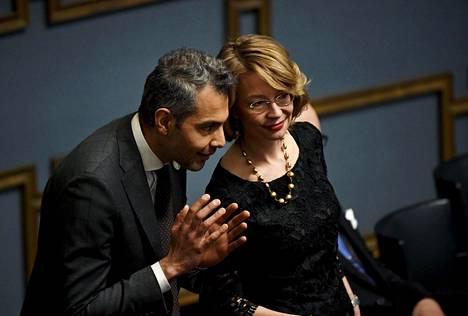 Hussein al-Taee ja Tytti Tuppurainen.