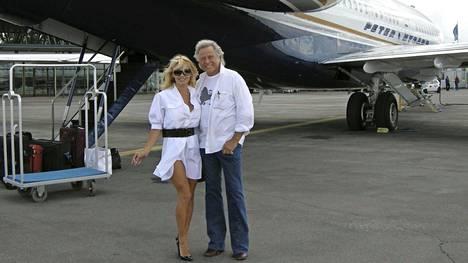 Pamela Anderson on yksi Peter Nygårdin tuntemista maailmantähdistä.