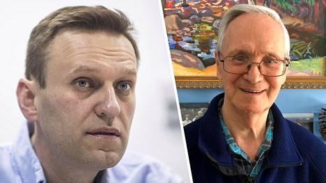 Novitshokin keksijöihin kuuluva Vil Mirzajanov (oik) pelkää, että Aleksei Navalnyi ei tule enää koskaan täysin ennalleen hermomyrkyn vaikutusten vuoksi.