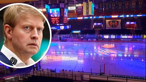 Typötyhjä Hakametsä ja sitä seurannut liigapelien yhtäkkinen päättyminen iskivät kaiken kokeneeseen jääkiekkovalmentajaan Jukka Rautakorpeen lujaa.