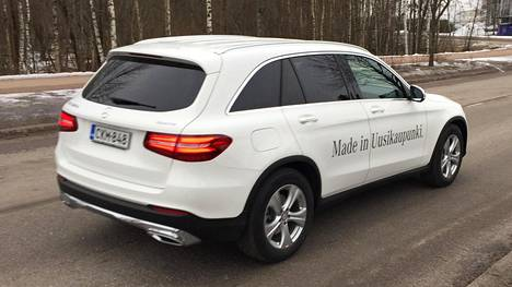 Valmet Automotive on valmistanut GLC-mallin Mercedes-Benziä vuoden 2017 helmikuusta lähtien.