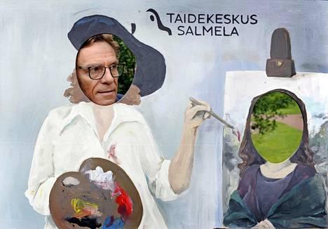 –Olen 27 vuotta sanonut, että Salmela ei ole koskaan valmis, mutta tänä vuonna, kun näyttelyt valmistuivat, minulle tuli häivähdys, että nyt tämä on sellainen kuin unelmissani.