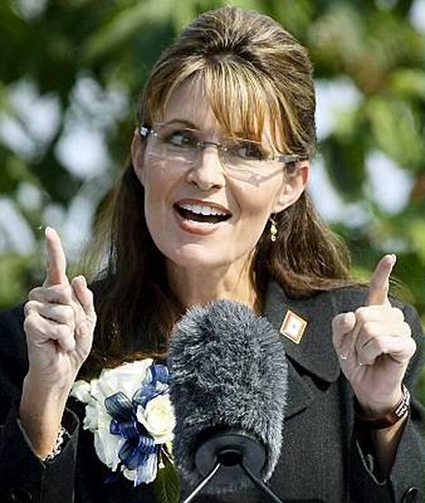 Sarah Palinin kirja Going Rogue julkaistaan pian.