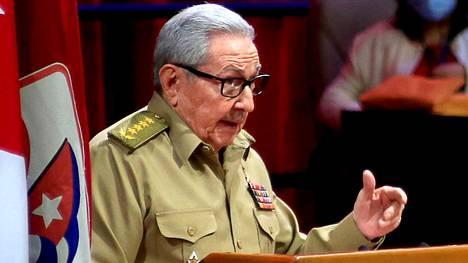 Raul Castro on johtanut Kuuban hallitsevaa puoluetta, kommunistista puoluetta vuodesta 2011.