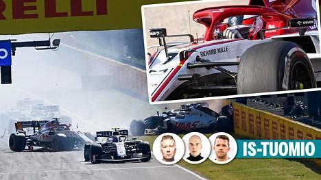 Sunnuntaina Italiassa ajetussa F1-kilpailussa nähtiin dramatiikkaa.