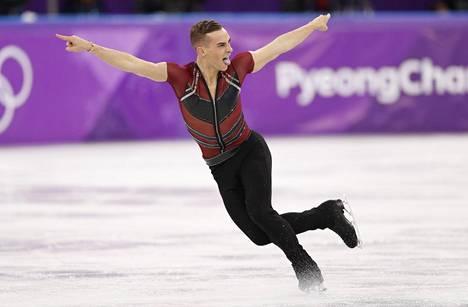 Adam Rippon Pyeongchangissa.