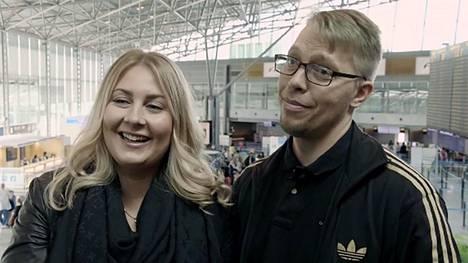 Johanna ja Markus suuntaavat Italiaan.