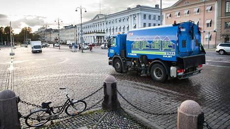 Biopolttoaineiden käyttö laajenee Helsingin kaupungin ajoneuvoissa.