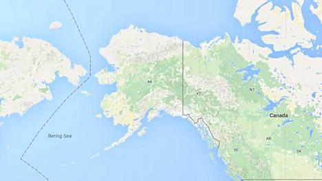 Alaskan eteläosia tärisytti sunnuntaina voimakas maanjäristys. Sen voimakkuudeksi on arvioitu 7,1.