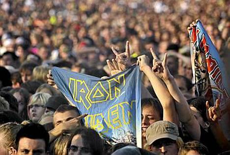 Sonisphere-festivaali oli IS:n lukijoiden suosikki kesän 2010 festivaaleista.
