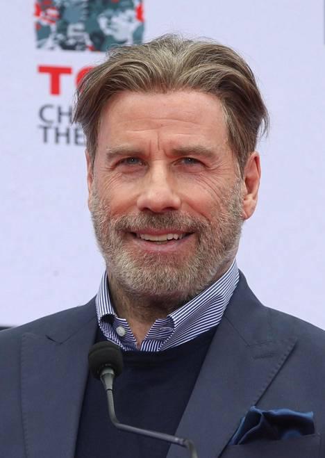 Tältä Travolta näytti vielä joulun alla.