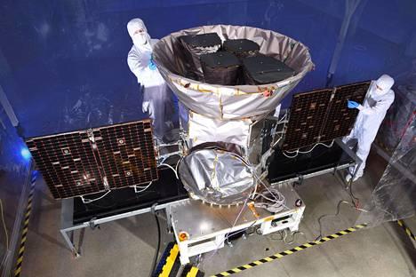 Nasa lähetti TESS-teleskoopin avaruuteen viime vuonna.
