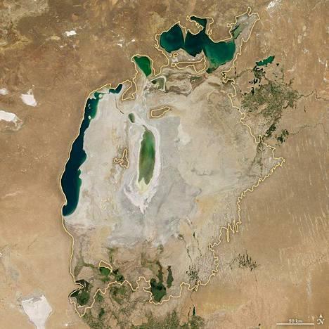 Araljärvi vuonna 2016.
