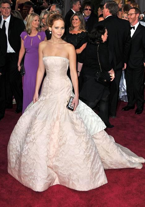Jennifer Lawrence oli upea 2013.