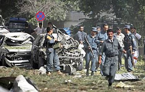 Tuhoisa autopommi räjähti Kabulissa pahimman aamuruuhkan keskellä.