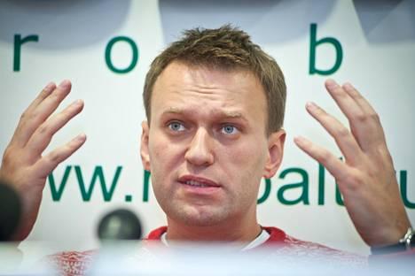 Oppositiopoliitikko Aleksei Navalnyi.