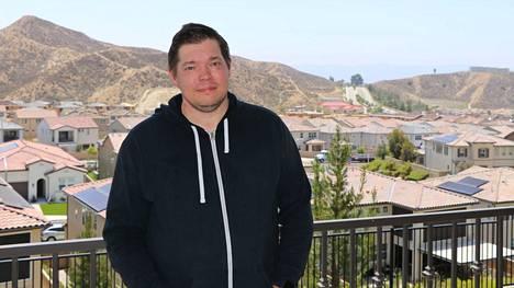 Juuso Myllyrinne muutti taannoin Santa Claritaan noin 50 kilometriä Los Angelesin keskustasta pohjoiseen.