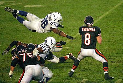 Jenkkifutiksen Super Bowl meni Indianapolis Coltsille.