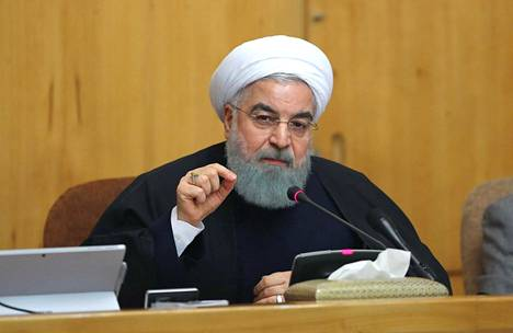 Iranin presidentti Hasan Ruhani.