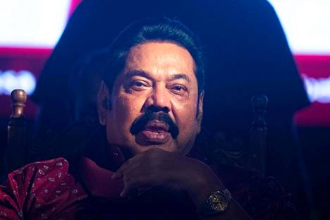 Mahinda Rajapaksa johti Sri Lankaa vuosina 2005–2015.
