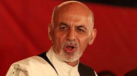 Ashraf Ghani on väittänyt voittaneensa Afganistanin presidentinvaalit.