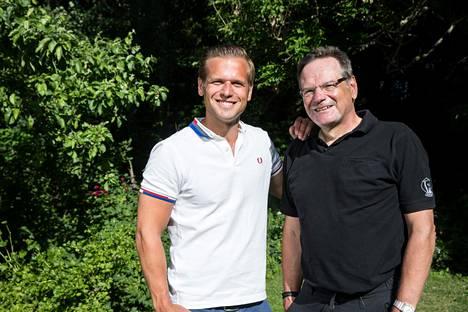 Ilkka Ihamäki ja hänen isänsä Olli Ihamäki osallistuivat Ilta-Sanomien tikkakisaan. Tulokset löytyvät jutun lopusta.